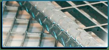 rejilla acero escalones de acero